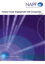 Pension funds engagement with companies 2009