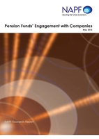 Pension funds engagement with companies 2010