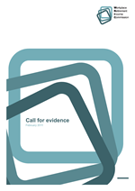 WRIC Call for evidence cover