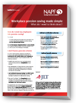 Workplace pension made simple