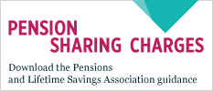 Pension sharing charges