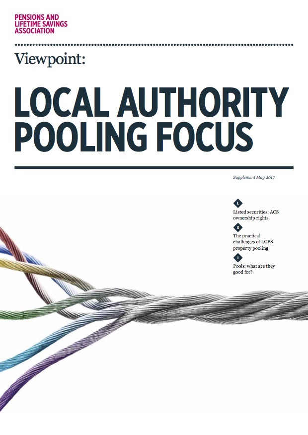 Viewpoint magazine issue 2 supplement: Local Authority Pooling